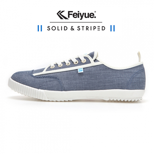 [UNISEX] SOLID AND STRIPED X FE LO / BLUE CHAMBRAY / F20196W