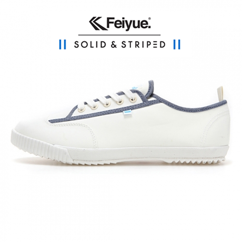 [UNISEX] SOLID AND STRIPED X FE LO / WHITE / F20198W