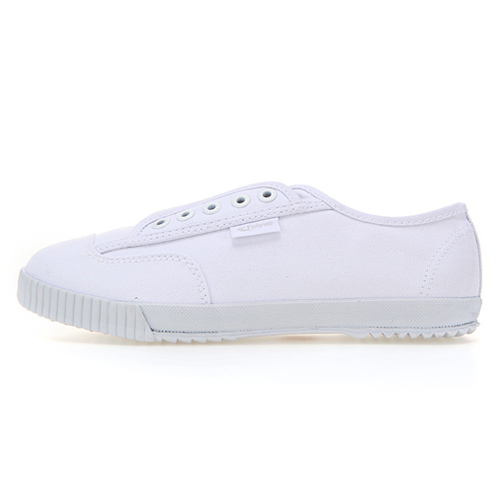 [WOMENS] PLAIN LACELESS TL / WHITE WHITE / F20259W