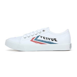 [UNISEX]FE LO II GRAFFITI/WHITE CANVAS BLUE RED/ FM100030