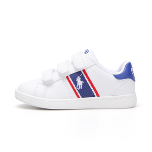 [TODDLER] QUIGLEY EZ / WHITE SMOOTH/ROYAL/RED W/ WHITE PP/ RF101633T