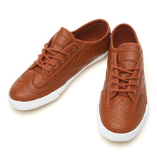 FE LO PLAIN BRIT WAXY LEATHER CARAMEL BROWN / 00250392