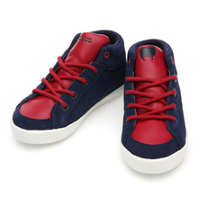 GOLDEN HOOK X DELTA MID KID NAPPA NAVY RED / CB0610471