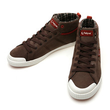 DELTA TOE CAP LEATHER BROWN / 00410645