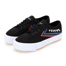 [UNISEX] PLAIN PLATFORM / BLACK BLUE RED / F20227W