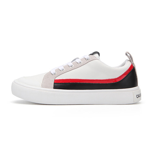 [WOMEN] DODIE WHITE/BLACK/WHITE/TOMATO/ R079301
